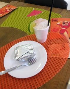 Bolo gelado com Raspadinha. Foto: Marina Chicca