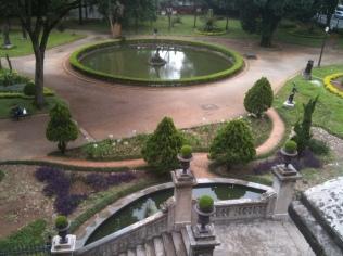 Vista da varanda para o parque da Luz. (Foto: Nadia Nouh)