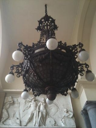 Lustre varanda Pinacoteca (Foto: Nadia Nouh)