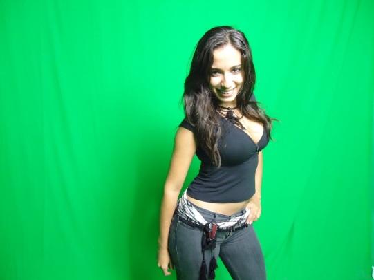 Essa é a Anitta antes da fama e já com a prótese de silicone