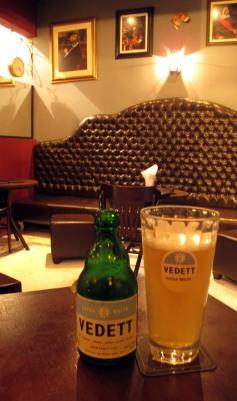 Primeira cerveja da noite: Vedett Foto: Marina Chicca