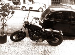 Rola um encontro de motociclistas - já gosto!