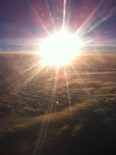 O céu na volta