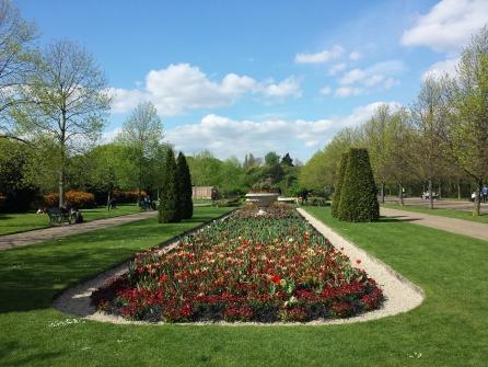 Canteiros lindos - Regents Park