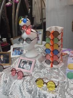 Óculos que troca lentes da Festival Specs.