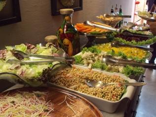 Buffet de salada do Empório São João