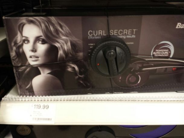 Babyliss mágico da Curl Secret, 119,99 Pounds - Ouch!